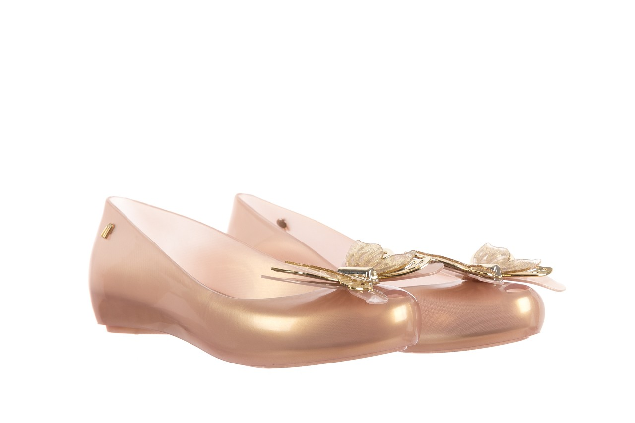 Baleriny melissa ultragirl fly ad pearlized beige, złoty, guma - melissa - nasze marki 8