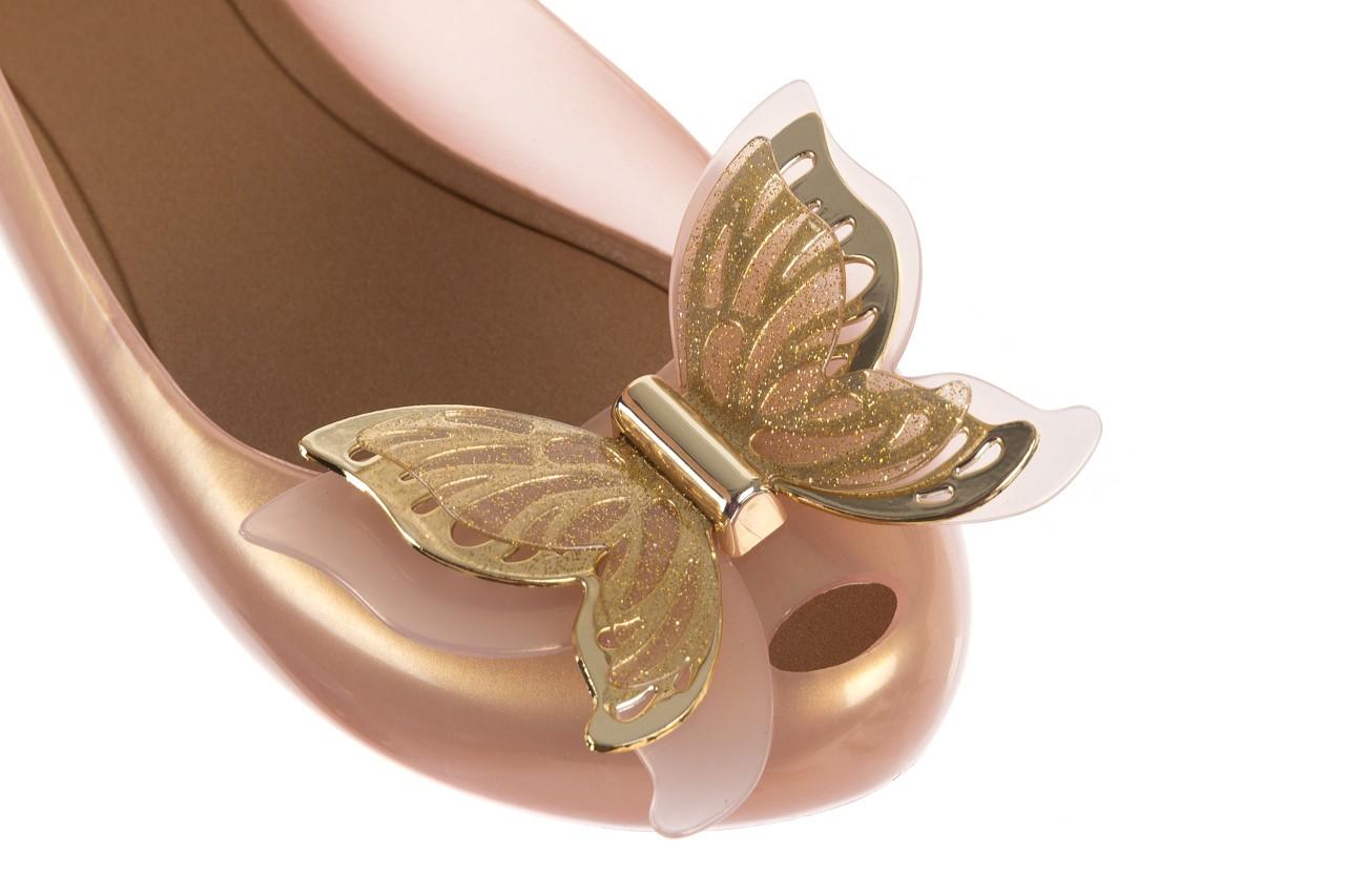 Baleriny melissa ultragirl fly ad pearlized beige, złoty, guma - melissa - nasze marki 12