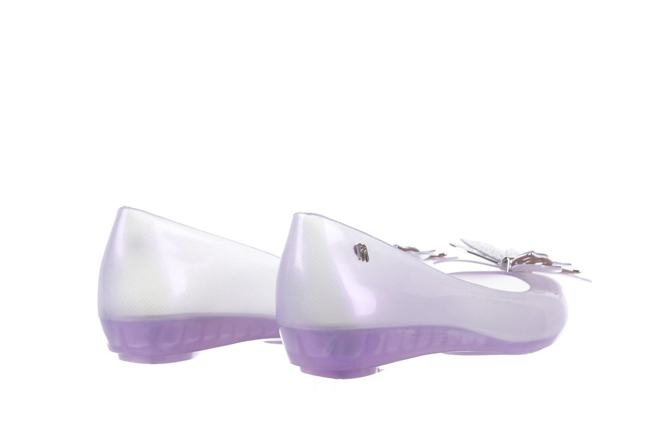 Baleriny melissa ultragirl fly ad pearly lilac, biały/fiolet, guma - melissa - nasze marki 10