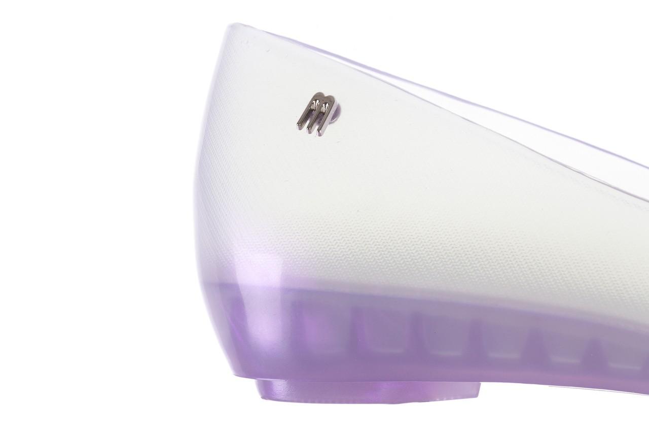 Baleriny melissa ultragirl fly ad pearly lilac, biały/fiolet, guma - melissa - nasze marki 13