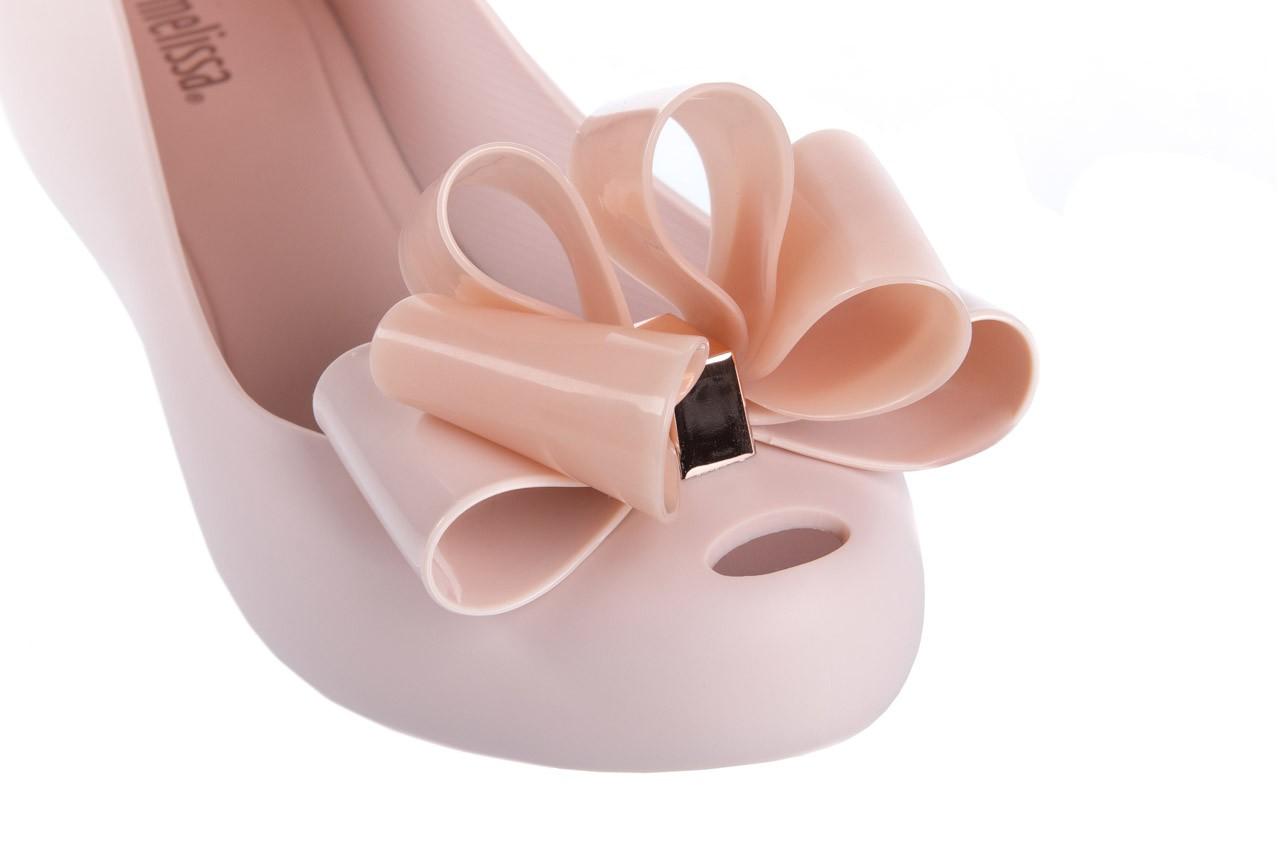 Baleriny melissa ultragirl sweet x ad light pink, róż, guma - melissa - nasze marki 11