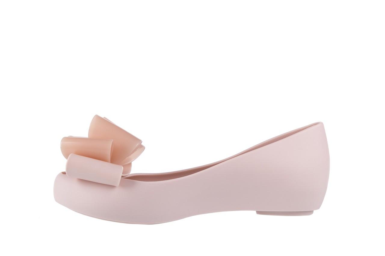 Baleriny melissa ultragirl sweet x ad light pink, róż, guma - melissa - nasze marki 8