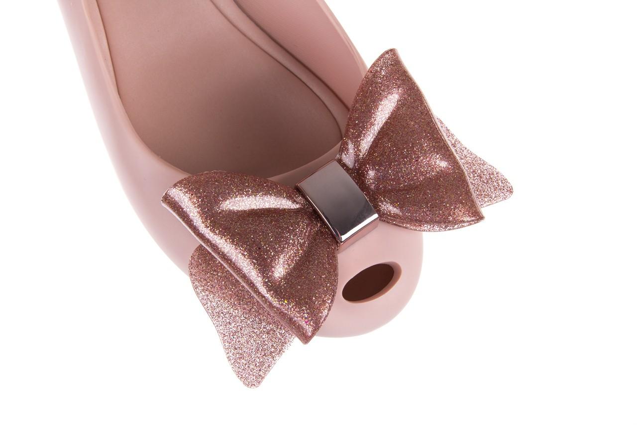 Baleriny melissa ultragirl sweet xiv ad light pink, róż, guma - melissa - nasze marki 12