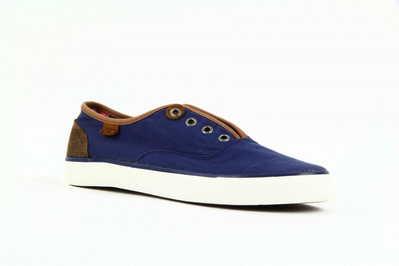 Trampki pepe jeans pms30009 571 blue, granat, materiał  - trampki - dla niego - sale 9