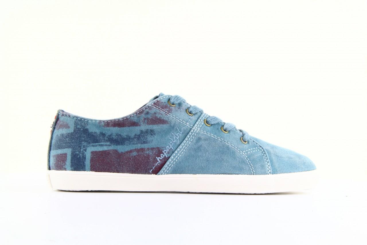 Trampki napapijri 08738149 blue grey, niebieski, materiał 9