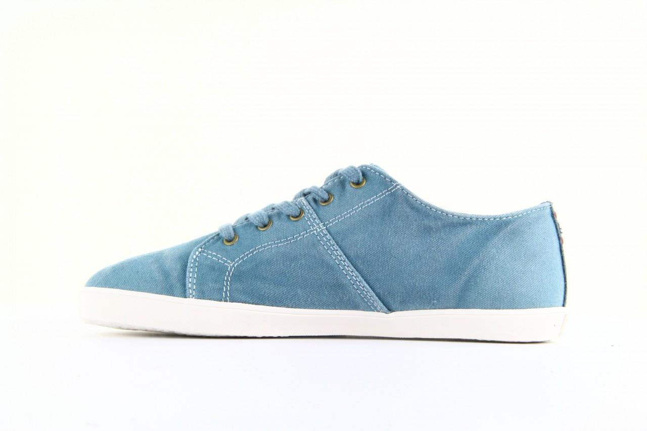 Trampki napapijri 08738149 blue grey, niebieski, materiał 11