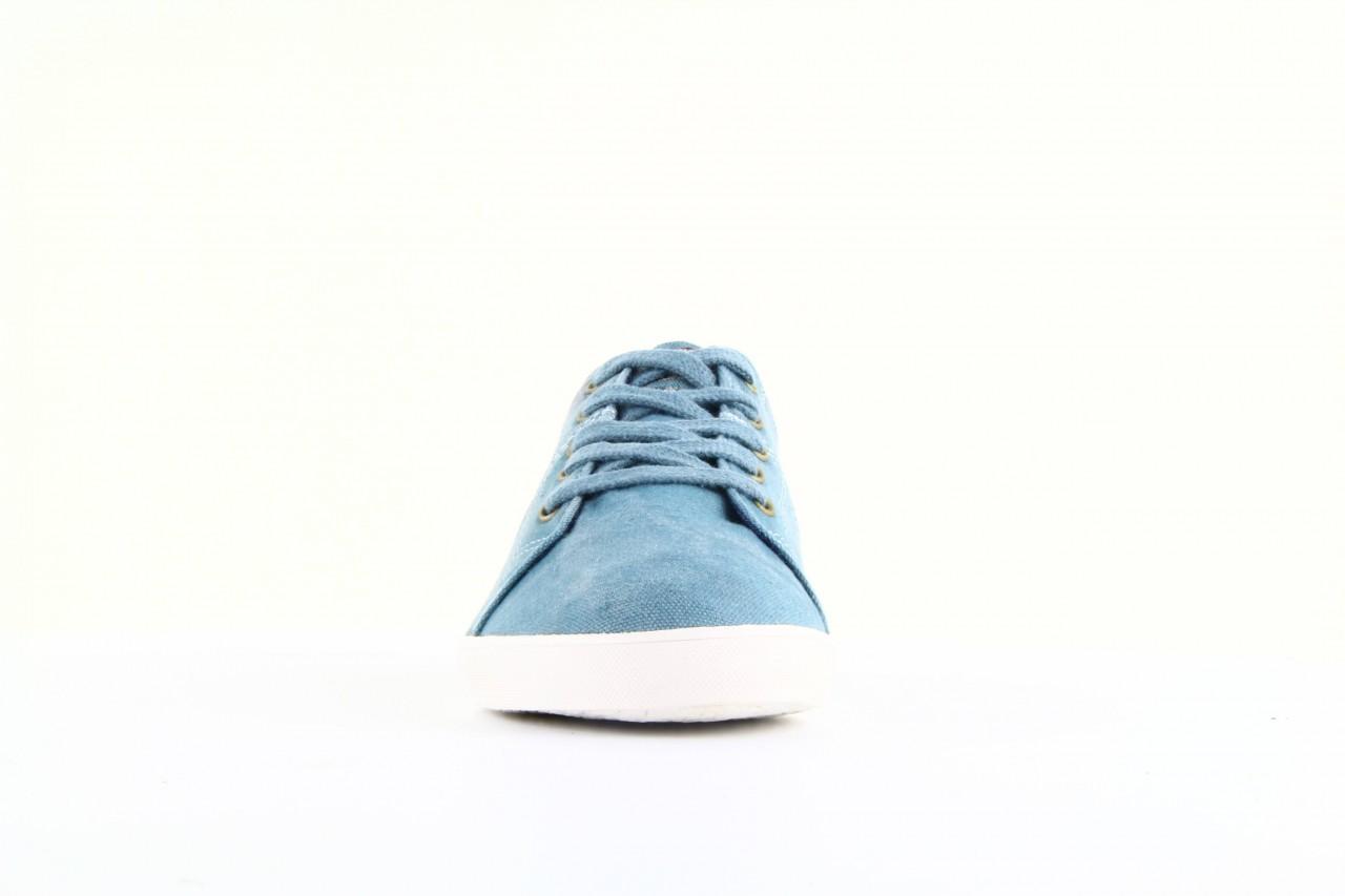 Trampki napapijri 08738149 blue grey, niebieski, materiał 10