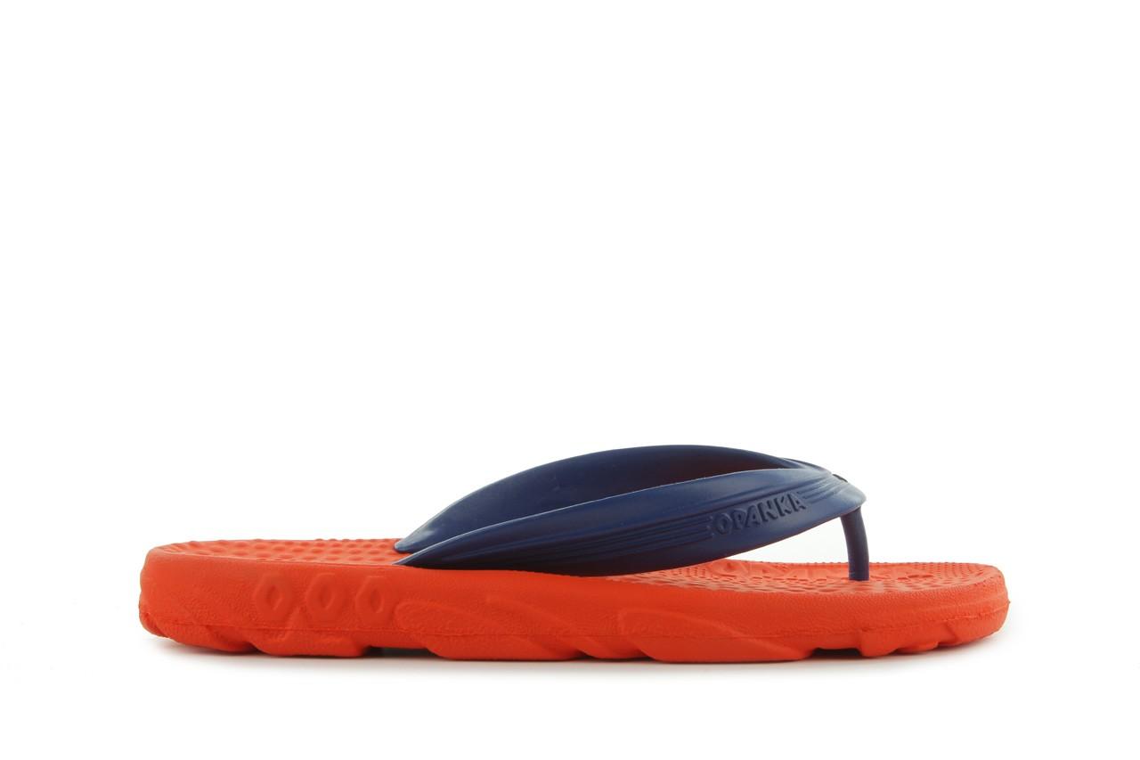 Klapki opanka bark 028 royal c-orange, pomarańczowy, guma - azaleia - nasze marki 5