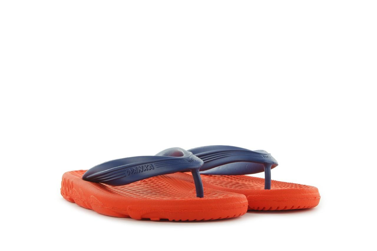 Klapki opanka bark 028 royal c-orange, pomarańczowy, guma - azaleia - nasze marki 6