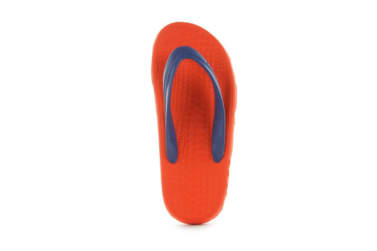 Klapki opanka bark 028 royal c-orange, pomarańczowy, guma - azaleia - nasze marki 8