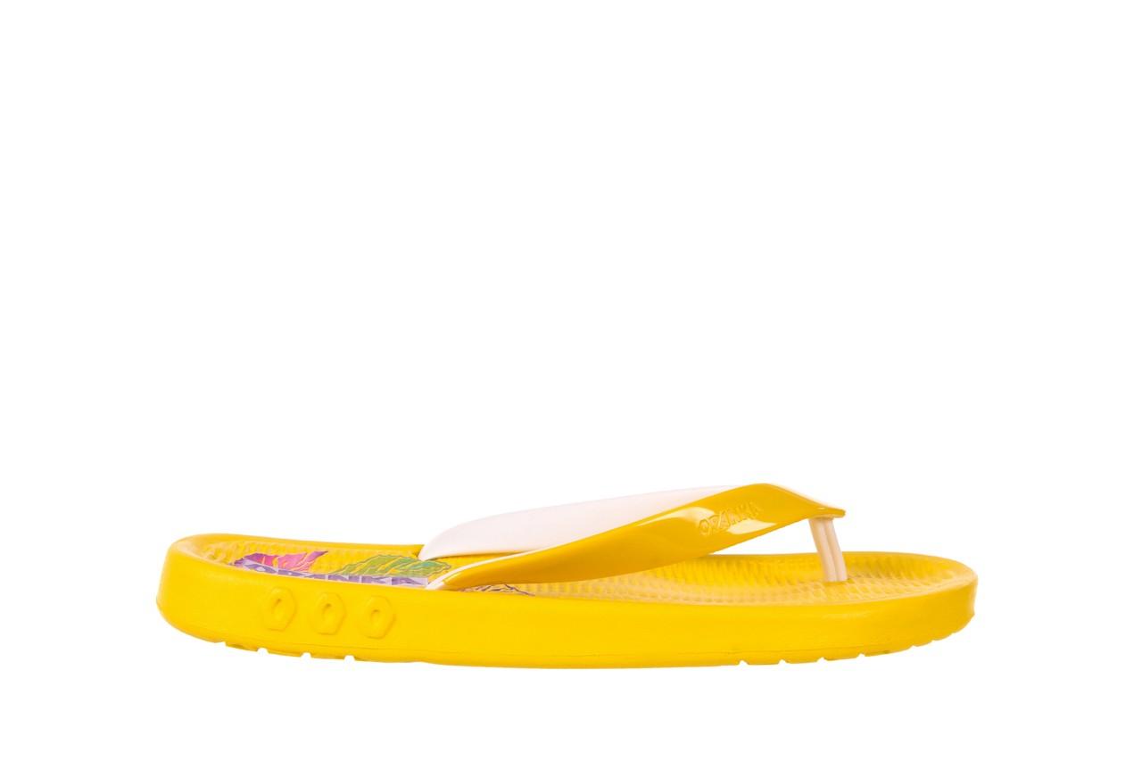 Klapki kiss 026 yellow or neon, żółty, guma - azaleia - nasze marki 5
