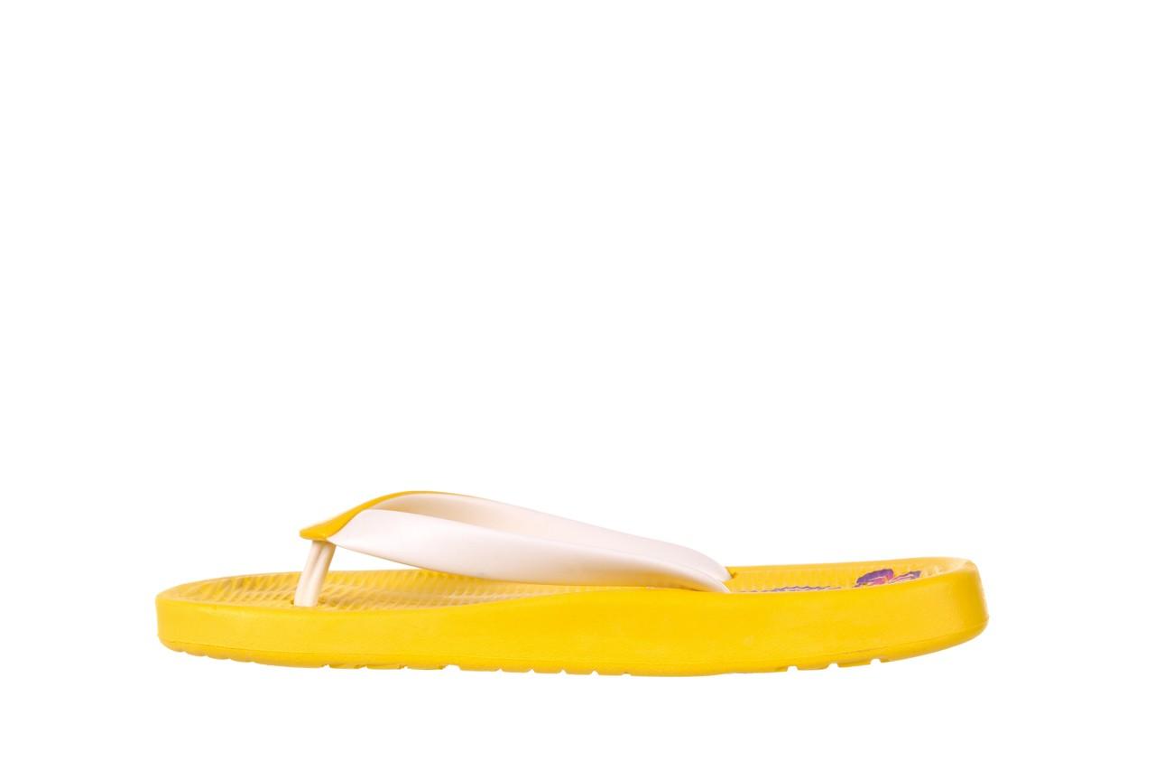 Klapki kiss 026 yellow or neon, żółty, guma - azaleia - nasze marki 7