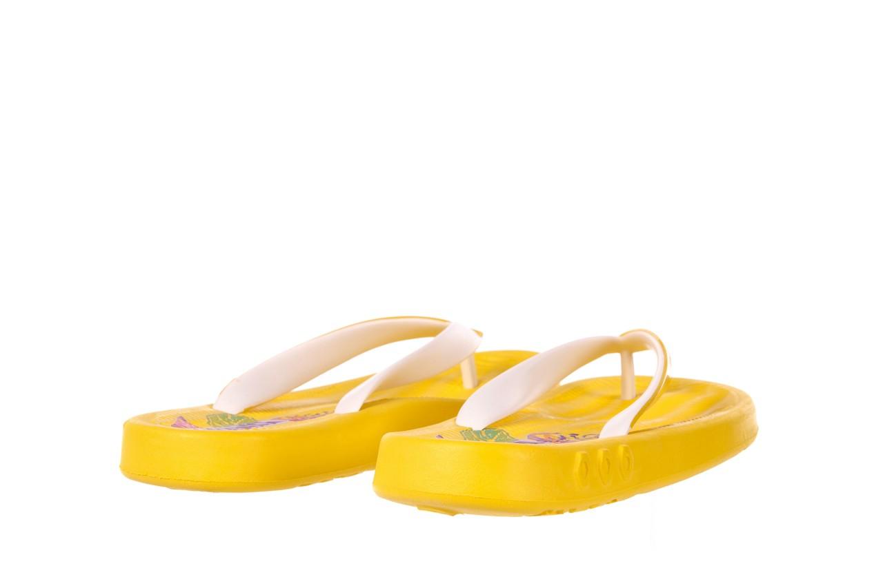 Klapki kiss 026 yellow or neon, żółty, guma - azaleia - nasze marki 9