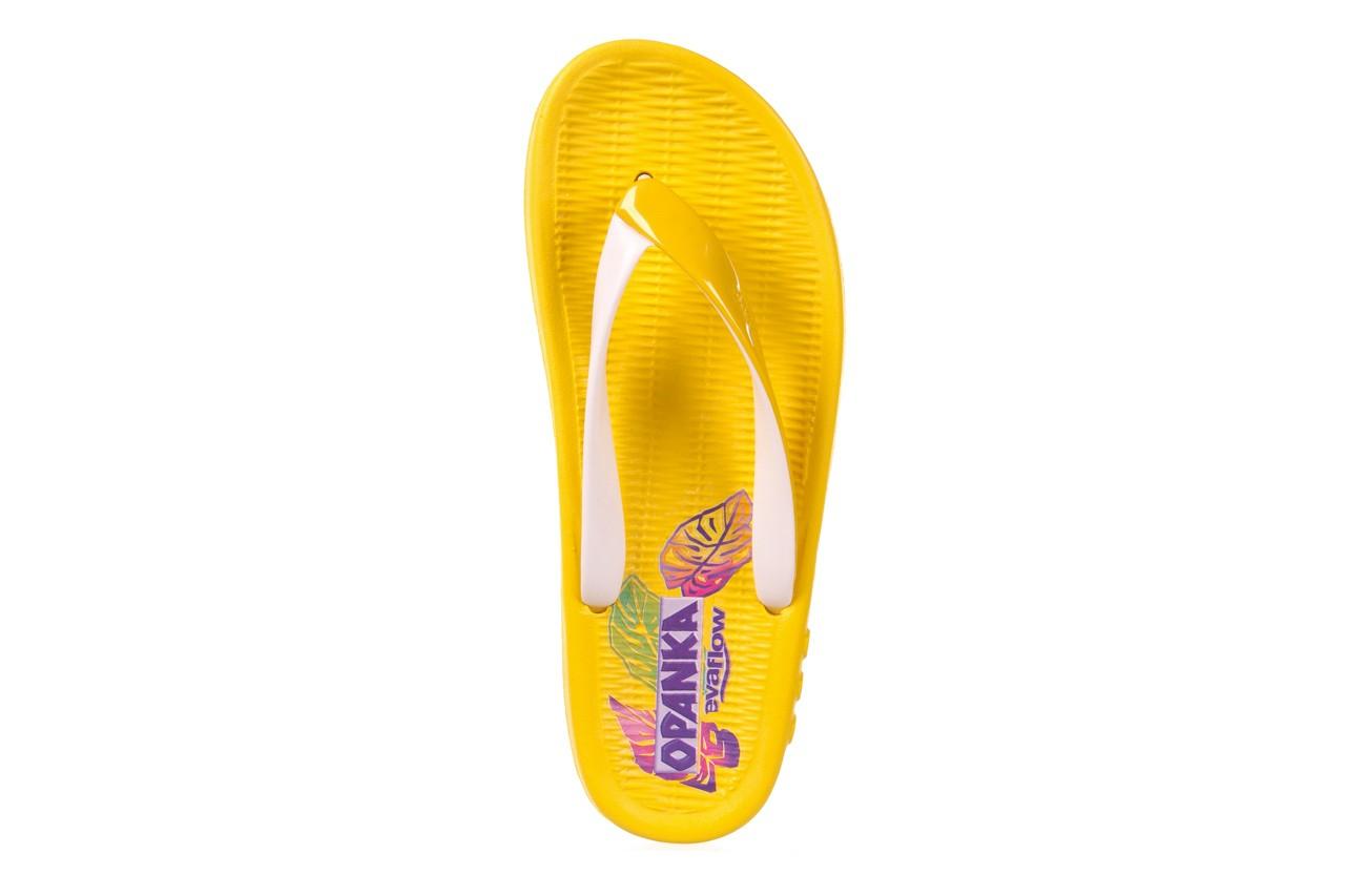 Klapki kiss 026 yellow or neon, żółty, guma - azaleia - nasze marki 8