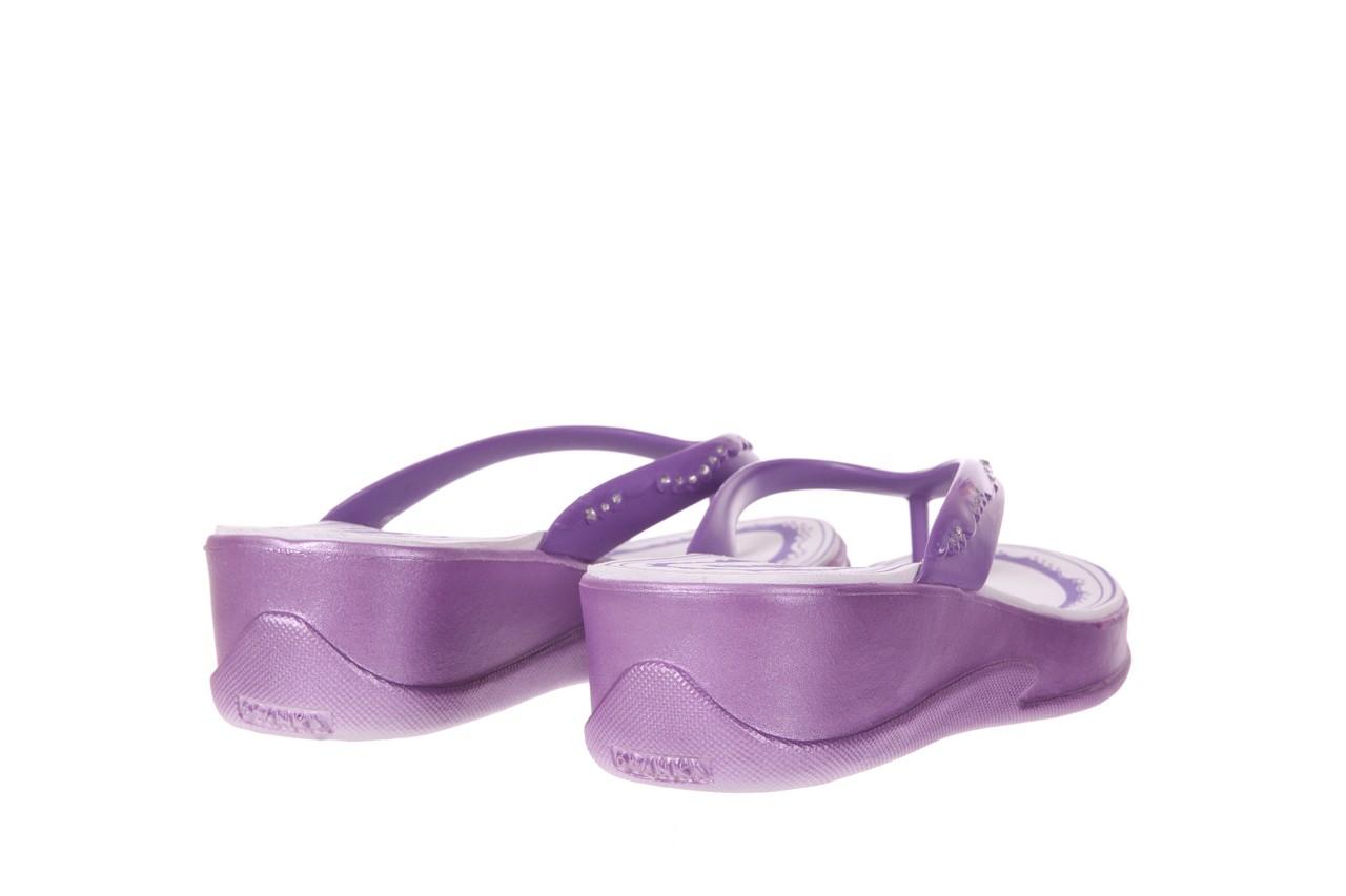 Klapki jade 011 grape, fiolet, guma - azaleia - nasze marki 8