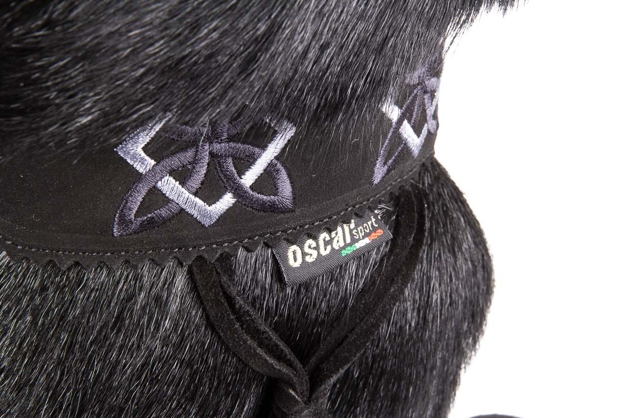 Śniegowce oscar nevada black ,czarny, futro naturalne  - oscar - nasze marki 11