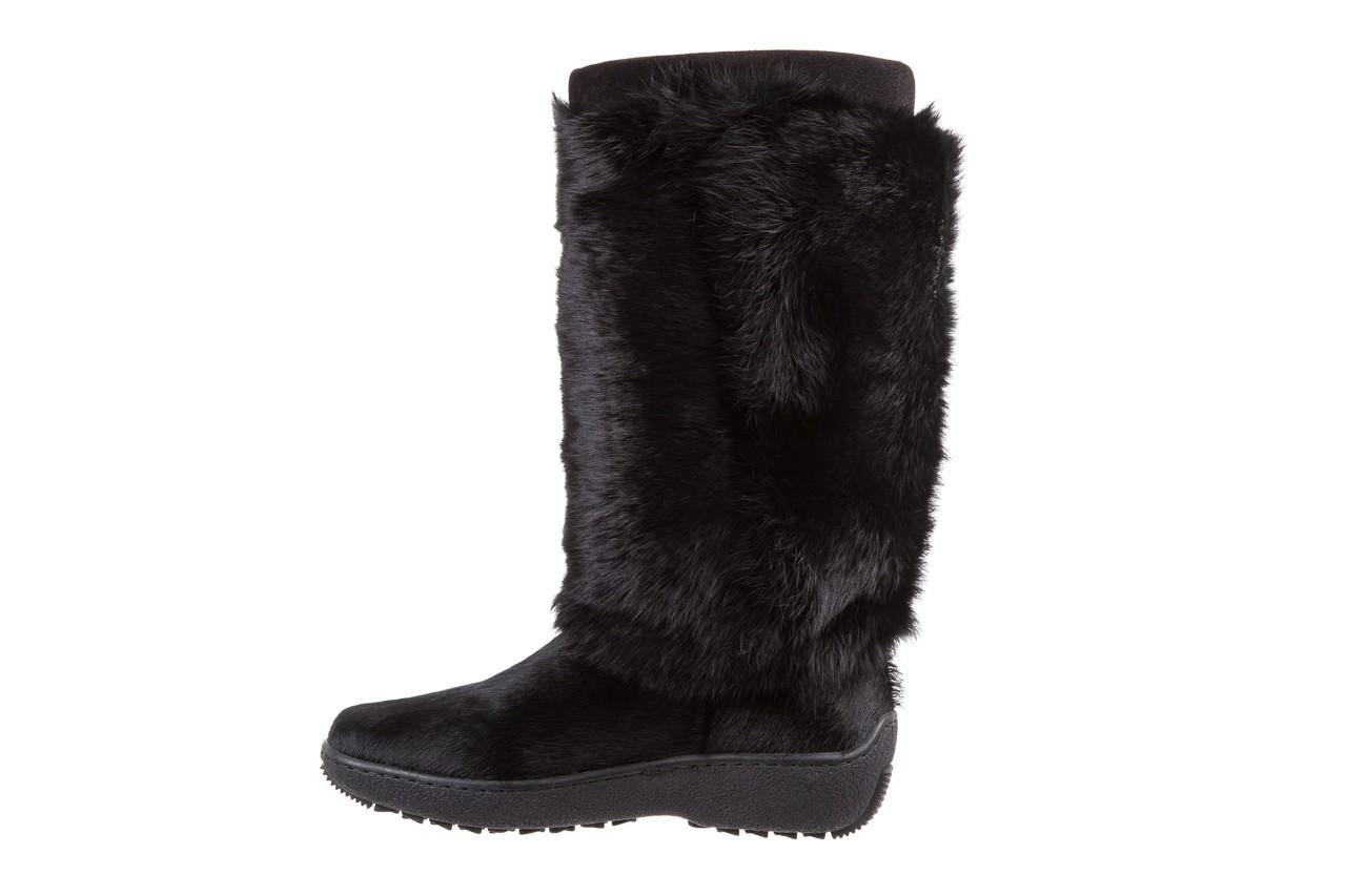 Śniegowce oscar norma l1 black, czarny, futro naturalne  - oscar - nasze marki 8