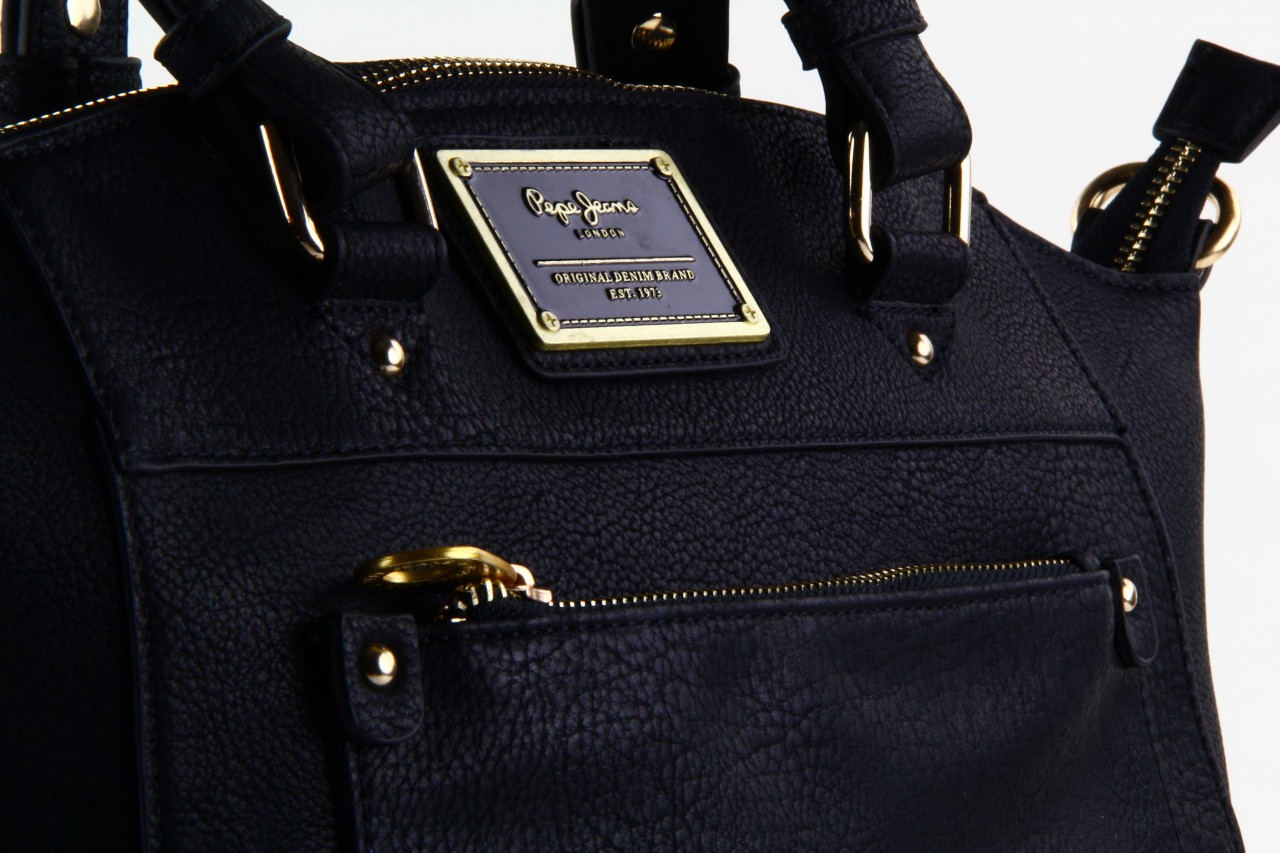 Pepe jeans torebka davina bag black  - pepe jeans  - nasze marki 11