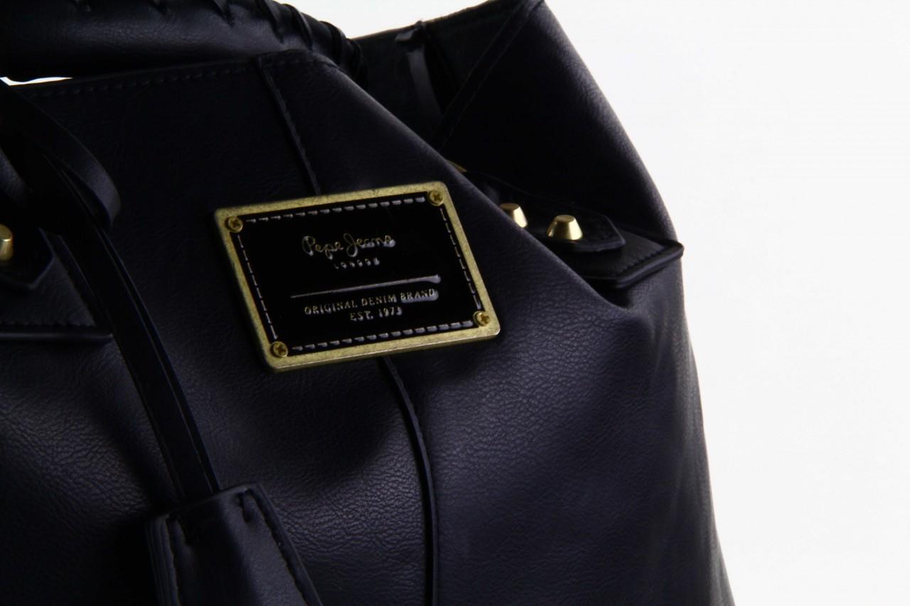 Pepe jeans torebka franchon black  - pepe jeans  - nasze marki 11