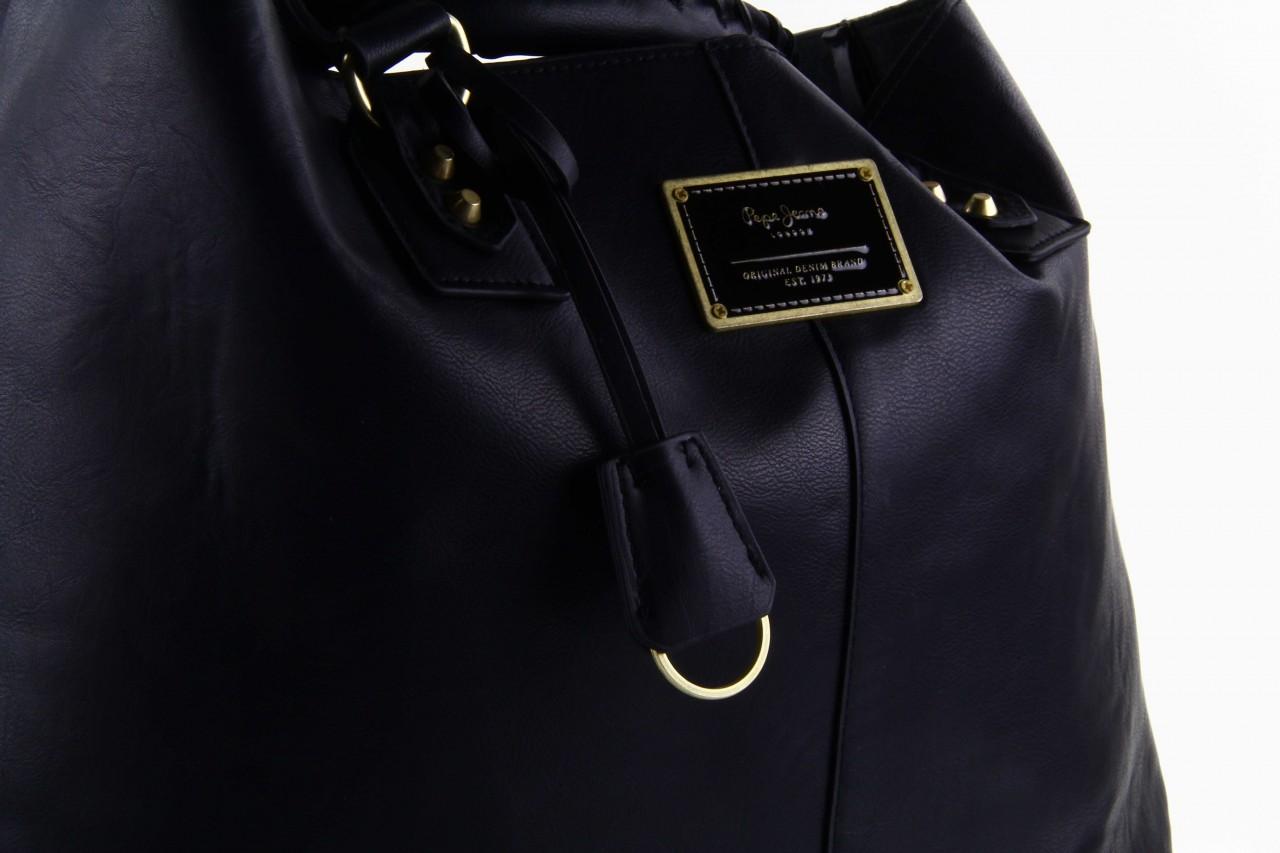 Pepe jeans torebka franchon black  - pepe jeans  - nasze marki 12