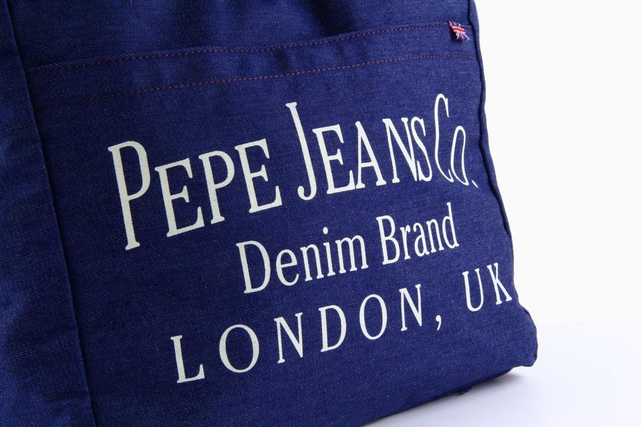 Pepe jeans torebka gourdon bag denim  - pepe jeans  - nasze marki 8