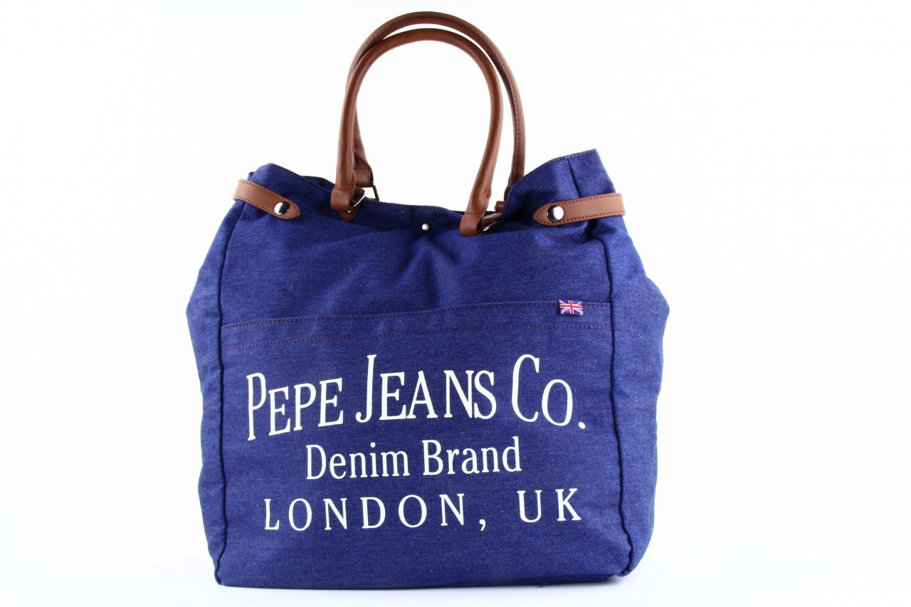 Pepe jeans torebka gourdon bag denim  - pepe jeans  - nasze marki 9