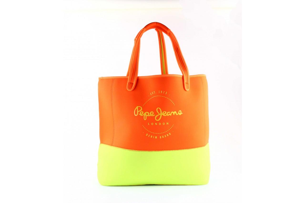 Pepe jeans torebka newneo bag fresh orange  - pepe jeans  - nasze marki 6