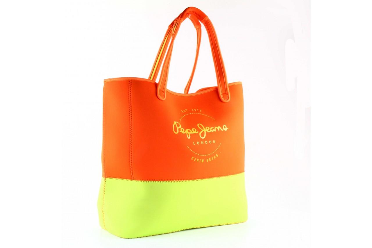 Pepe jeans torebka newneo bag fresh orange  - pepe jeans  - nasze marki 7