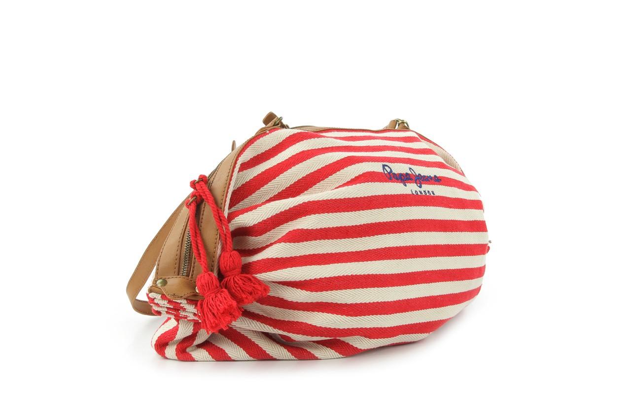 Pepe jeans torebka pl030562 red - pepe jeans  - nasze marki 7