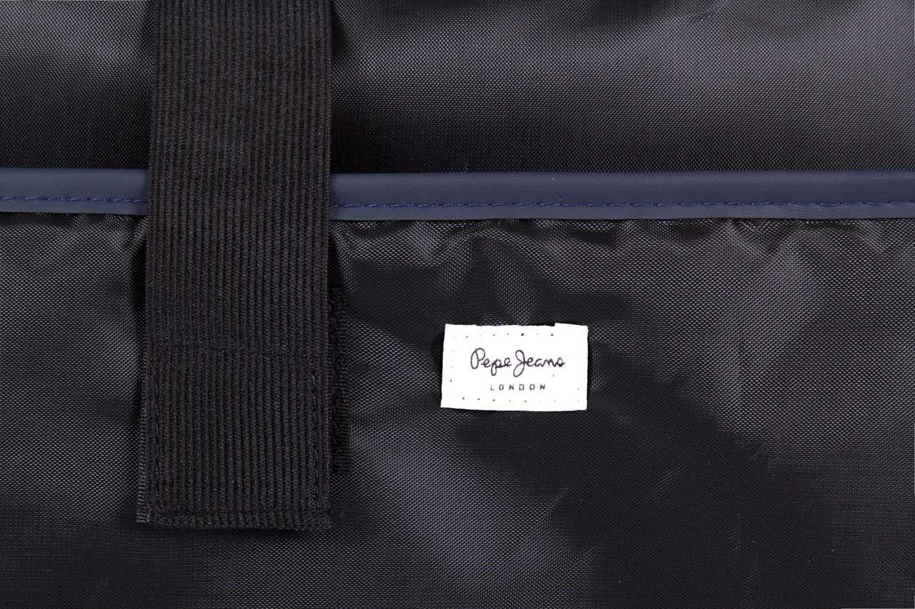 Pepe jeans torebka pm030402 graves bag blue - pepe jeans  - nasze marki 9