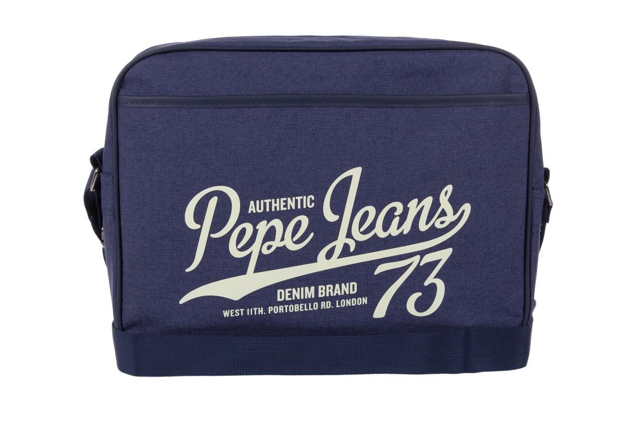 Pepe jeans torebka pm030402 graves bag blue - pepe jeans  - nasze marki 5