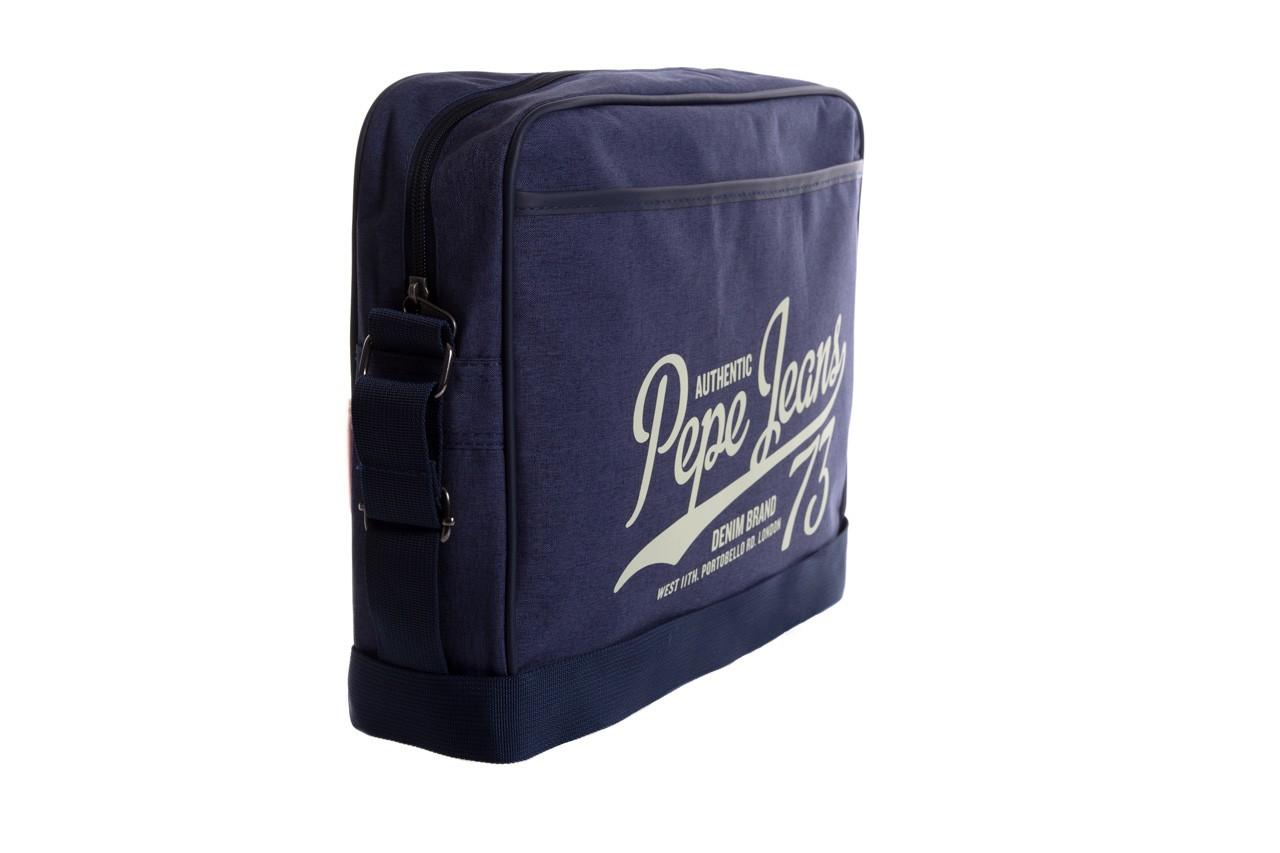 Pepe jeans torebka pm030402 graves bag blue - pepe jeans  - nasze marki 6