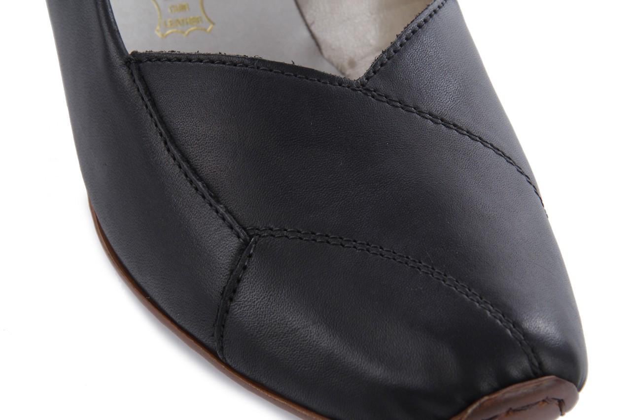 Sandały rieker 43790-00 black, czarny, skóra naturalna 11