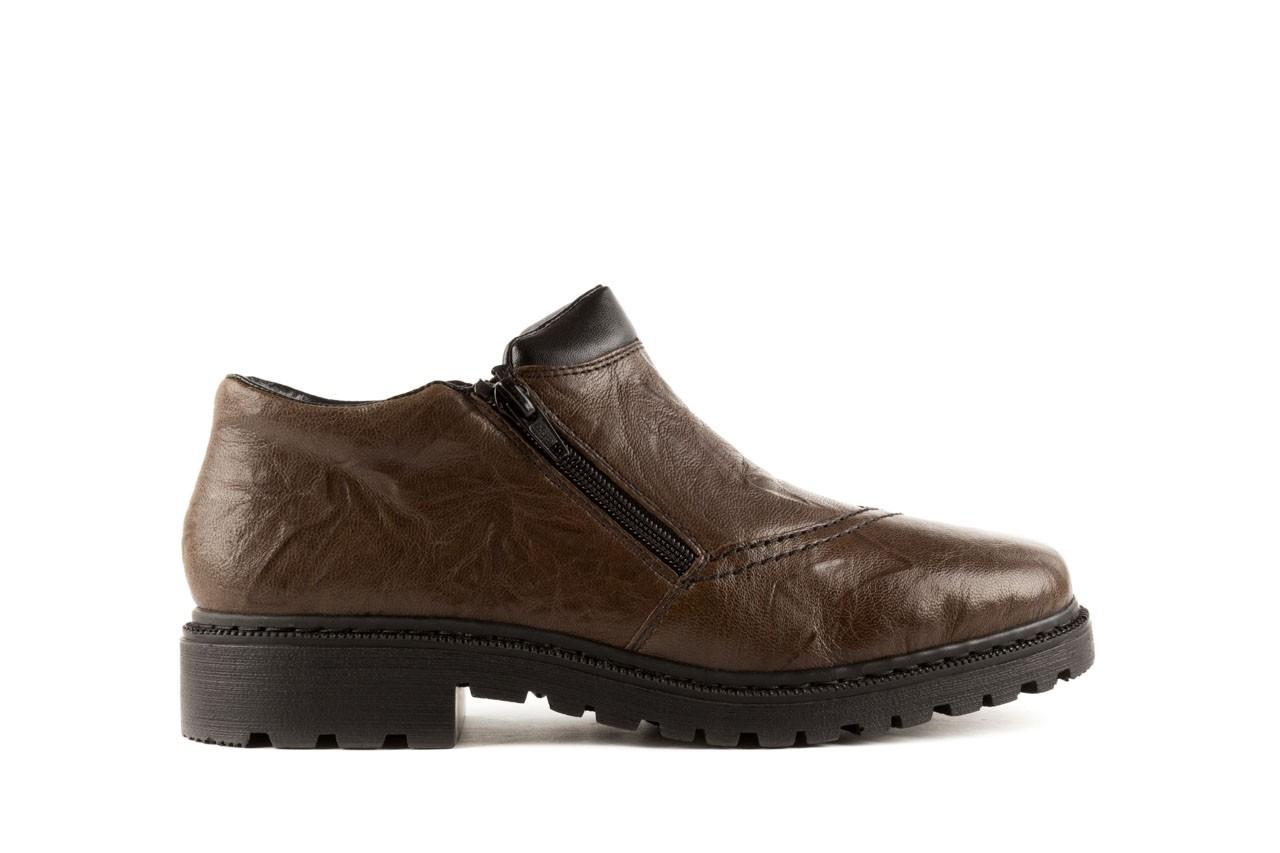 Rieker 56382-25 brown combination 6