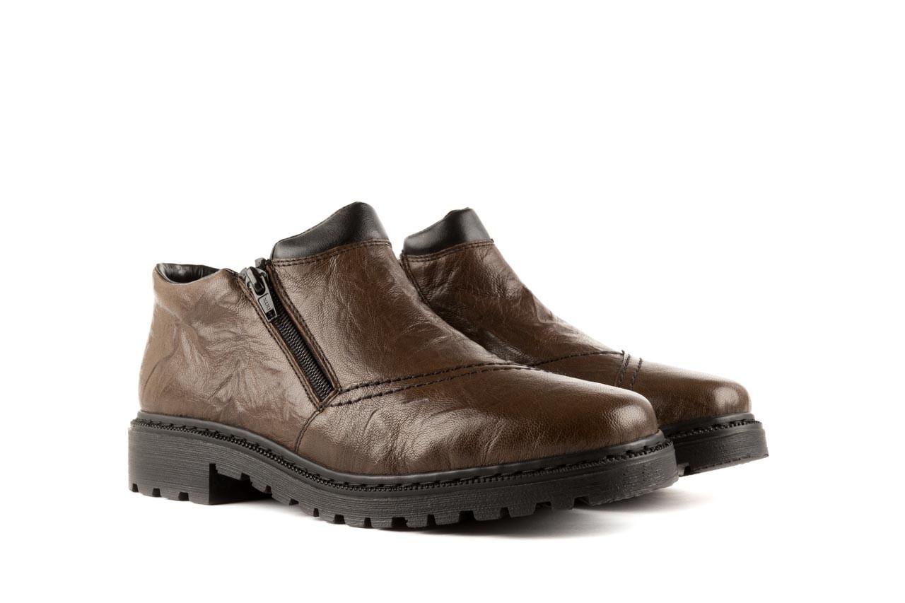 Rieker 56382-25 brown combination 7