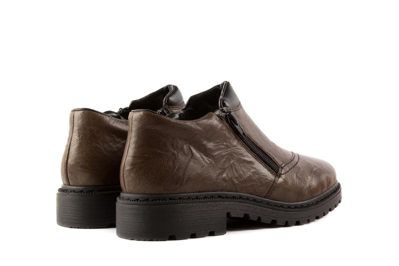 Rieker 56382-25 brown combination 9