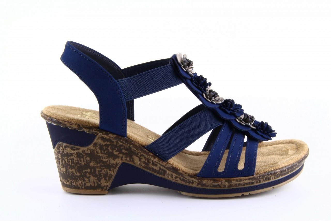 Rieker 60610-14 blue combination 9