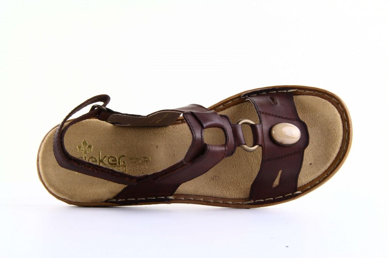Rieker 60874-26 brown - nasze marki 10