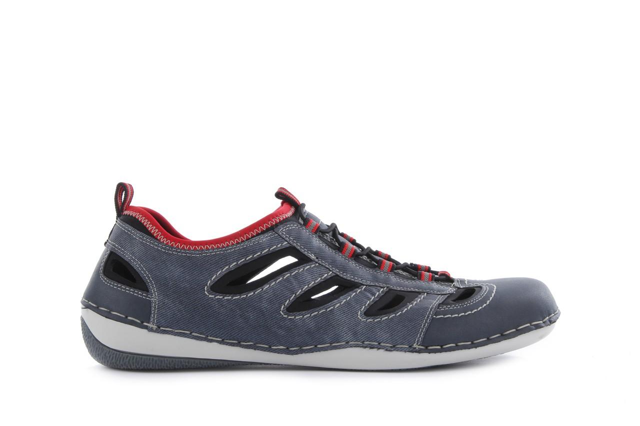 Rieker b9265-15 blue combination - nasze marki 6