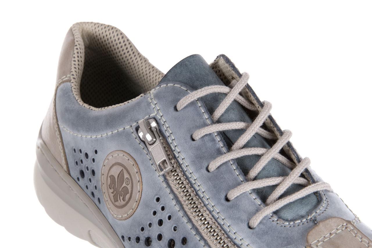 Rieker l3215-42 blue combination - nasze marki 11