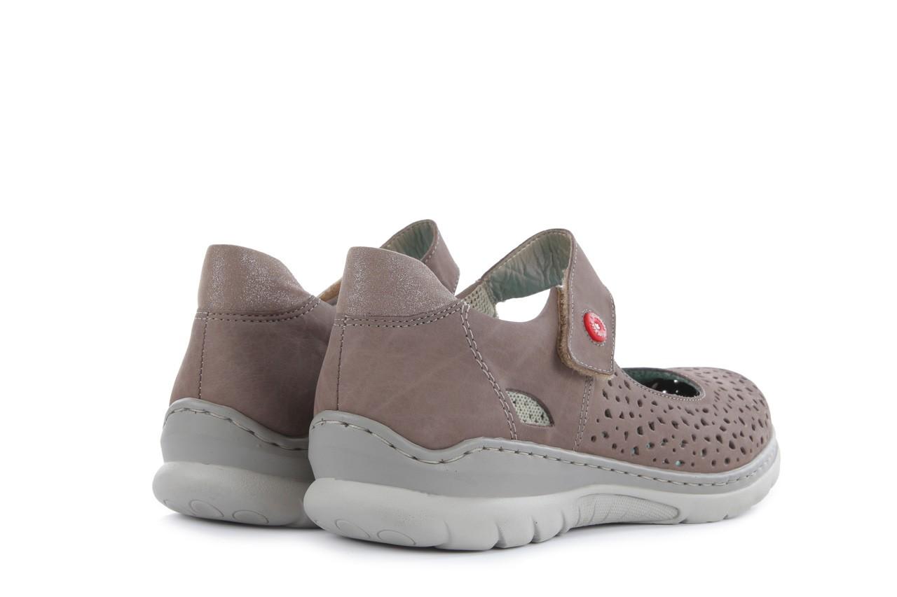 Rieker l3255-44 grey 10