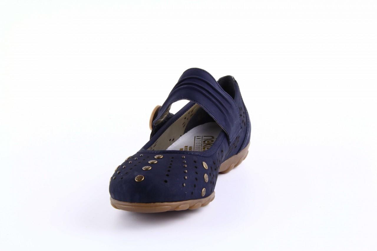 Rieker l8957-14 blue 7