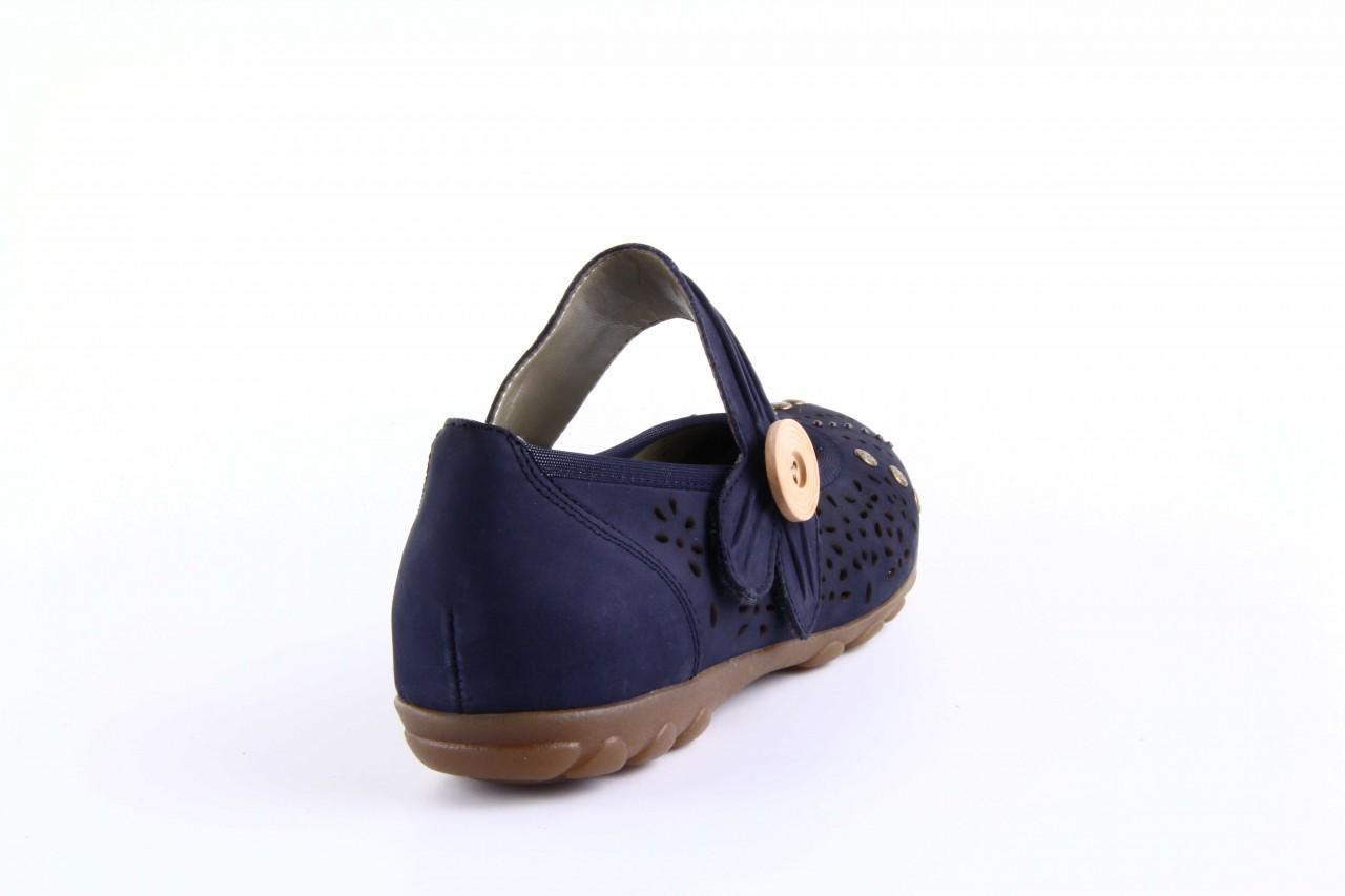 Rieker l8957-14 blue 6