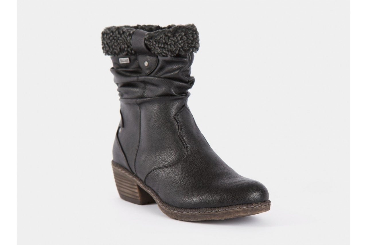 Rieker 93790-00 black comb 11