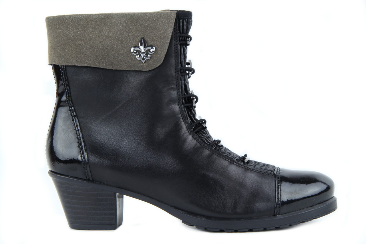 Rieker y0093-01 black combi 11