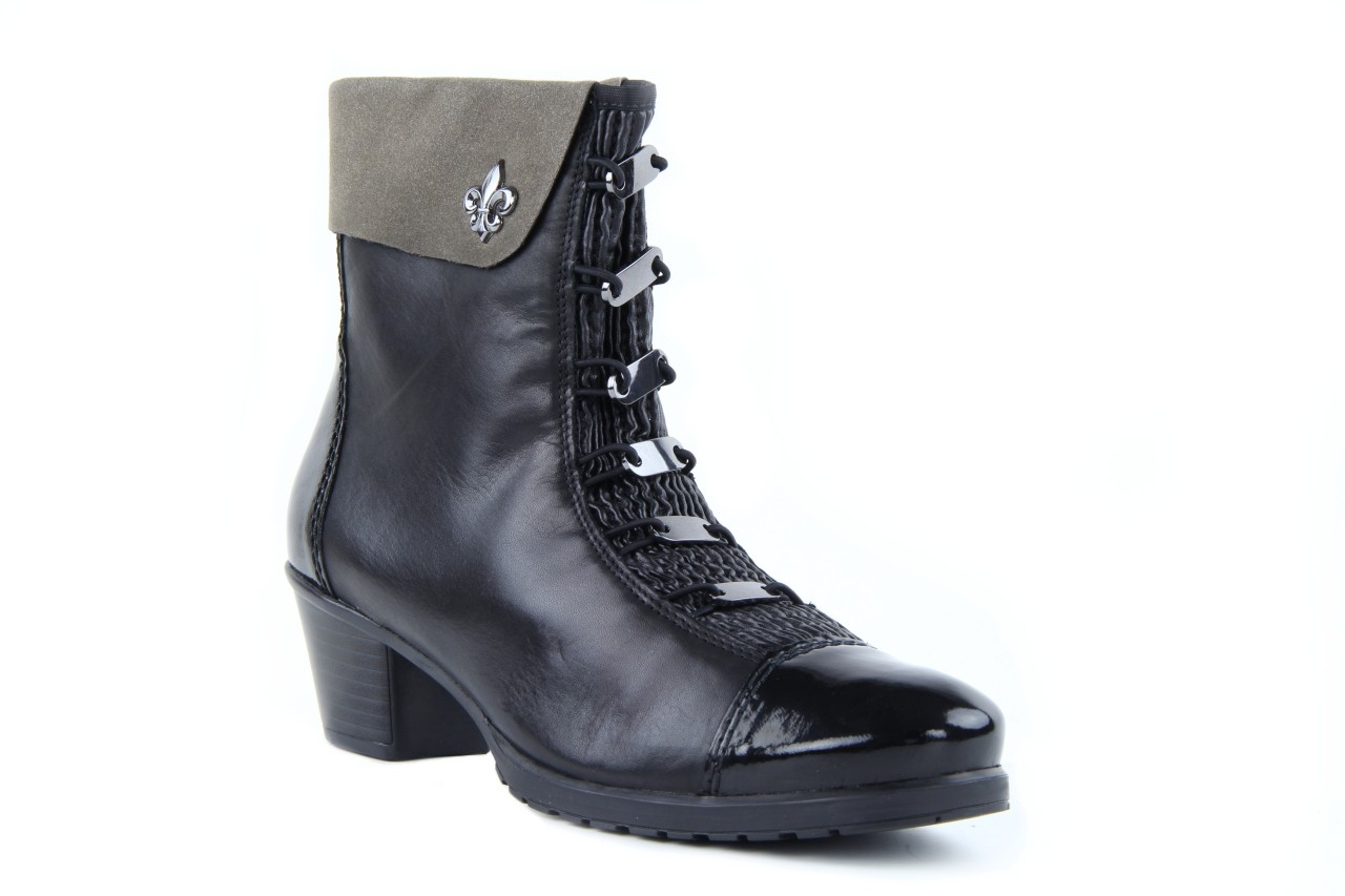 Rieker y0093-01 black combi 9