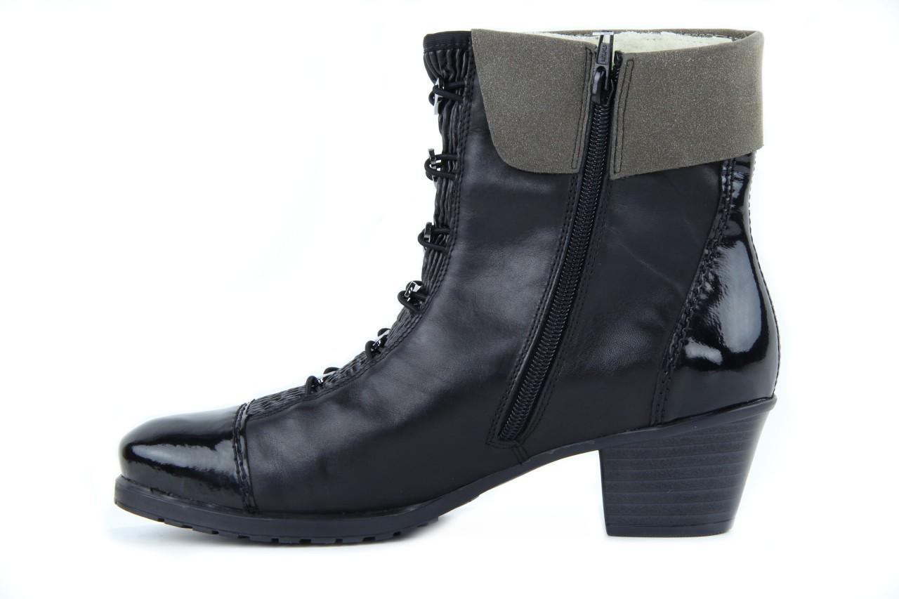 Rieker y0093-01 black combi 8