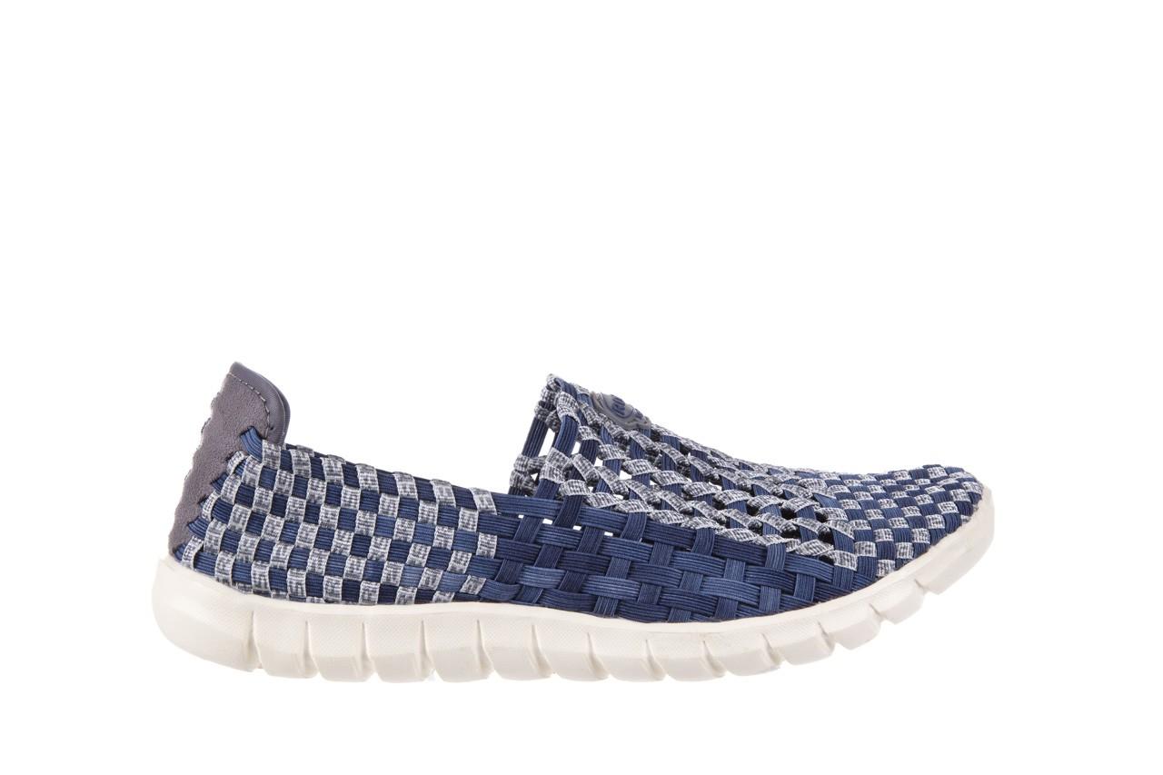Półbuty rock arbatax washed navy, niebieski, materiał - rock - nasze marki 6