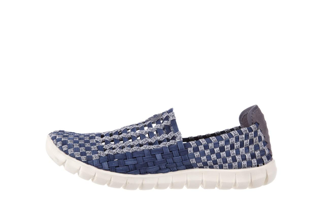 Półbuty rock arbatax washed navy, niebieski, materiał - rock - nasze marki 8