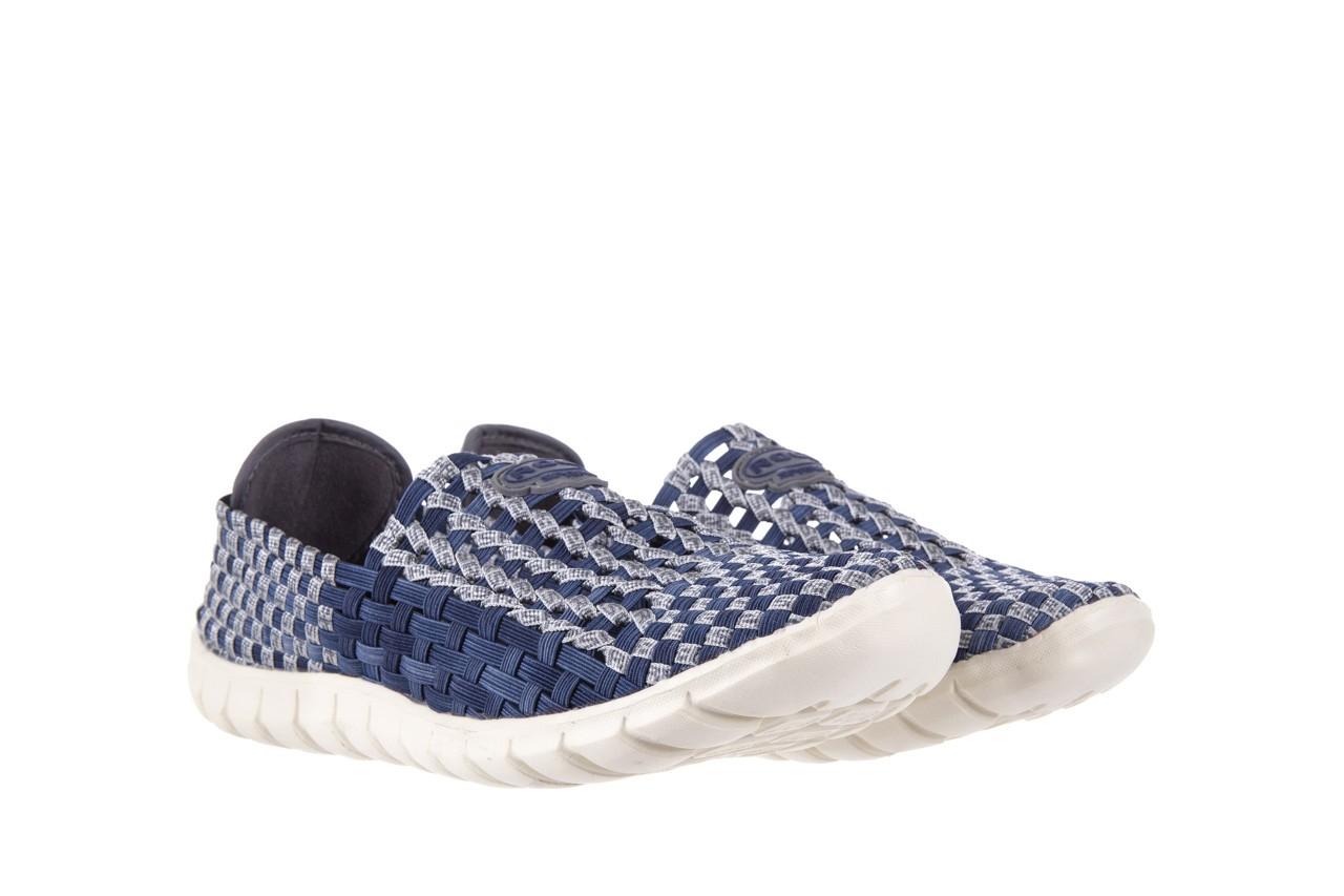 Półbuty rock arbatax washed navy, niebieski, materiał - rock - nasze marki 7